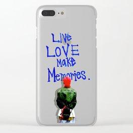 Live Love Make Memories, G-Dragon... Clear iPhone Case