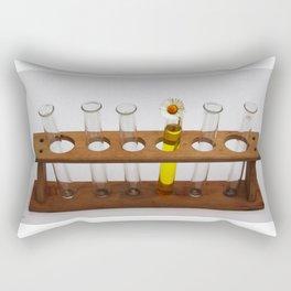 Scientific test tubes lab laboratory equipment  Rectangular Pillow