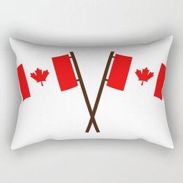 flag canada Rectangular Pillow