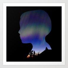 Dreaming Boy Art Print