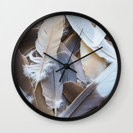 Feather Collection Wall Clock