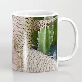 Stapelia Gigantea bloom close-up Coffee Mug