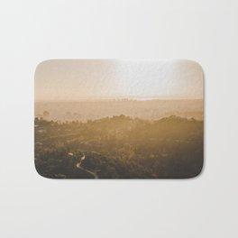 Golden Hour - Los Angeles, California Bath Mat