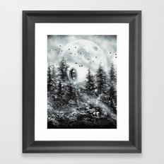 The Watcher Framed Art Print