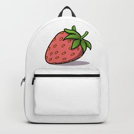 Red Strawberry Backpack