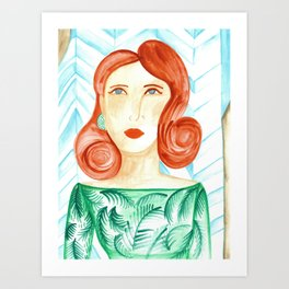 Miss Molly Art Print