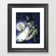 Shadow Man 3 Framed Art Print