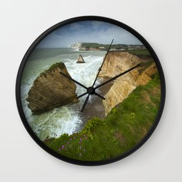 Isle Of Wight Seascape Wall Clock