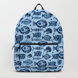 Deep Sea Blue Backpack