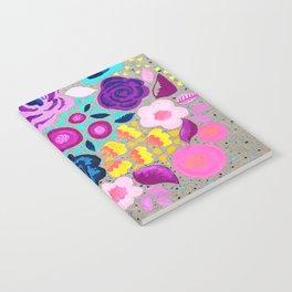 Linen Bouquet Notebook