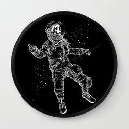 F-You Astronaut* Wall Clock