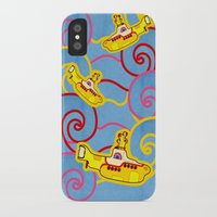 yellow submarine iPhone & iPod Cases featuring Yellow Submarine  by Merch Pug