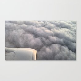 Engine And Grey Canvas Print