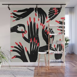 hands, fingers, nails & fingernails Wall Mural