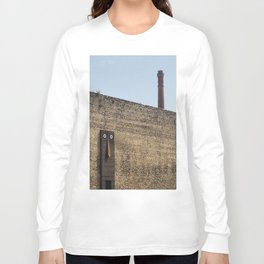 Clet Abraham art in Prato - Tuscany Long Sleeve T-shirt