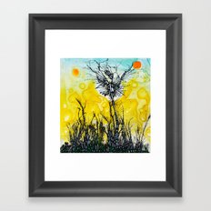 Tim Burton Framed Art Print
