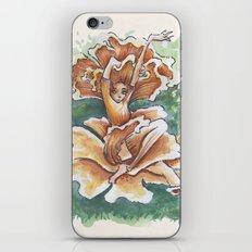 Empire of Mushrooms: Cantharellus cibarius iPhone & iPod Skin