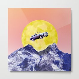Over the Alps! Metal Print