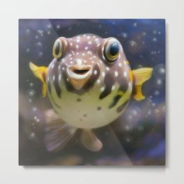 fugu Metal Print
