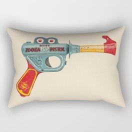 Gun Toy Rectangular Pillow