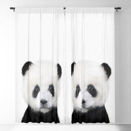 Panda Bear Art Blackout Curtain