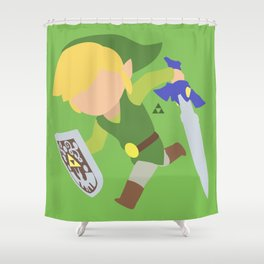 Toon Link(Smash) Shower Curtain