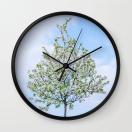 Spring - Happy Easter Wall Clock