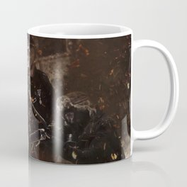 Victory is achieved throught mettle...  Coffee Mug