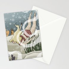 Bottom of the Sea II Stationery Cards