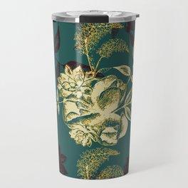 Illustrations of Florals Travel Mug