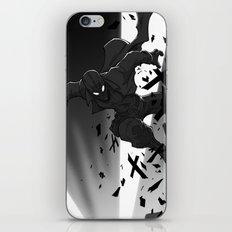 Spiderman Noir iPhone & iPod Skin