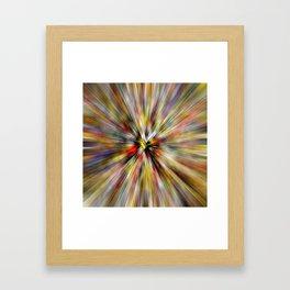 Square Dice Framed Art Print