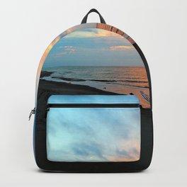 PEI Sandy Beach Sunset Backpack