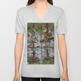 Modern Pixie Kingdom Unisex V-Neck