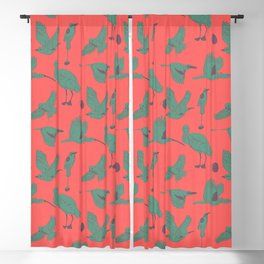 the BYrdZ: carmine Blackout Curtain