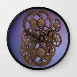 Steampunk Gears Wall Clock