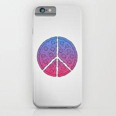Peace & Pizza iPhone 6s Slim Case
