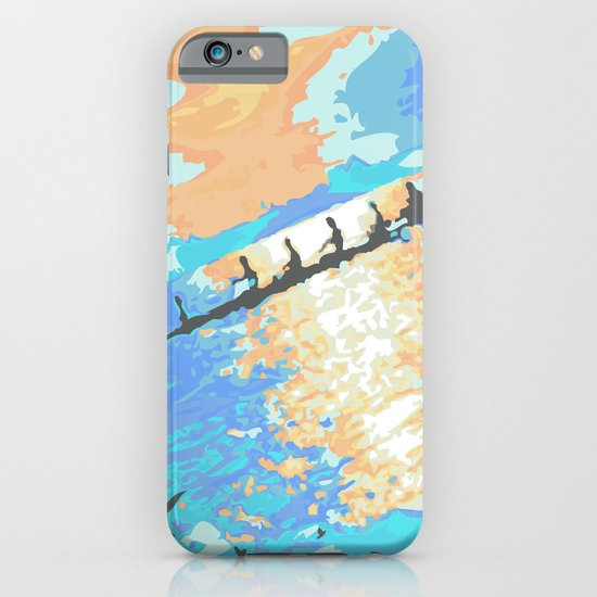 Rowing at dawn iPhone & iPod Case