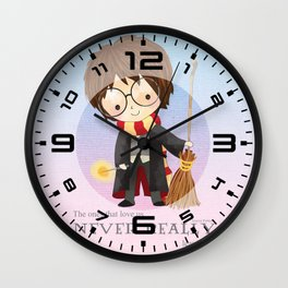Never realy leave us Wall Clock