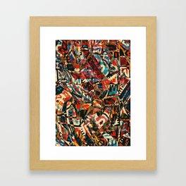 Pattern № 18 Framed Art Print