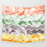 desert Wall Tapestries featuring Desert Dreams by Daisy Beatrice