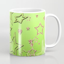 Bright green  lime , green neon Coffee Mug