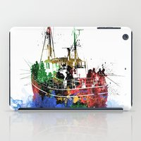 fishing iPad Cases featuring Fishing by Viktor Andersson