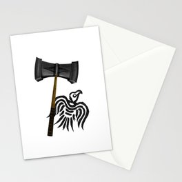 Thor Viking War Hammer Stationery Cards
