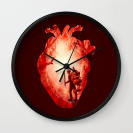 Guiding Light Wall Clock