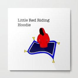 red riding hoodie, magic carpet Metal Print