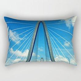 Cooper River Bridge Renewed Rectangular Pillow