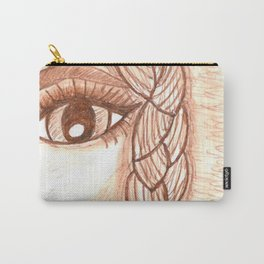 Girl with braid Carry-All Pouch
