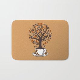 Coffee Tree Bath Mat