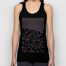 Ab Lines 45 Pink Unisex Tank Top